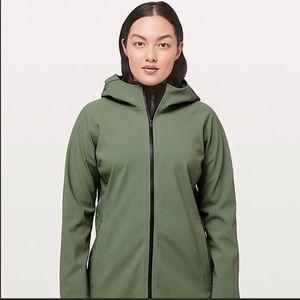 Lululemon Glyde Along Soft Shell Jacket Sz 12
